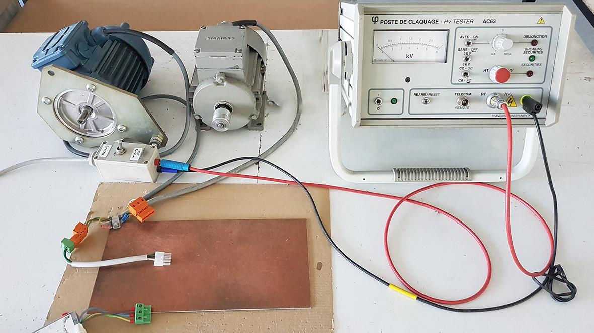 Test d'isolation électrique