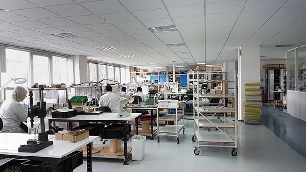 Atelier de production traditionnelle