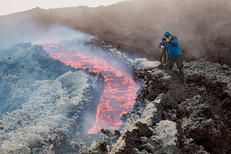 Volcan effusif