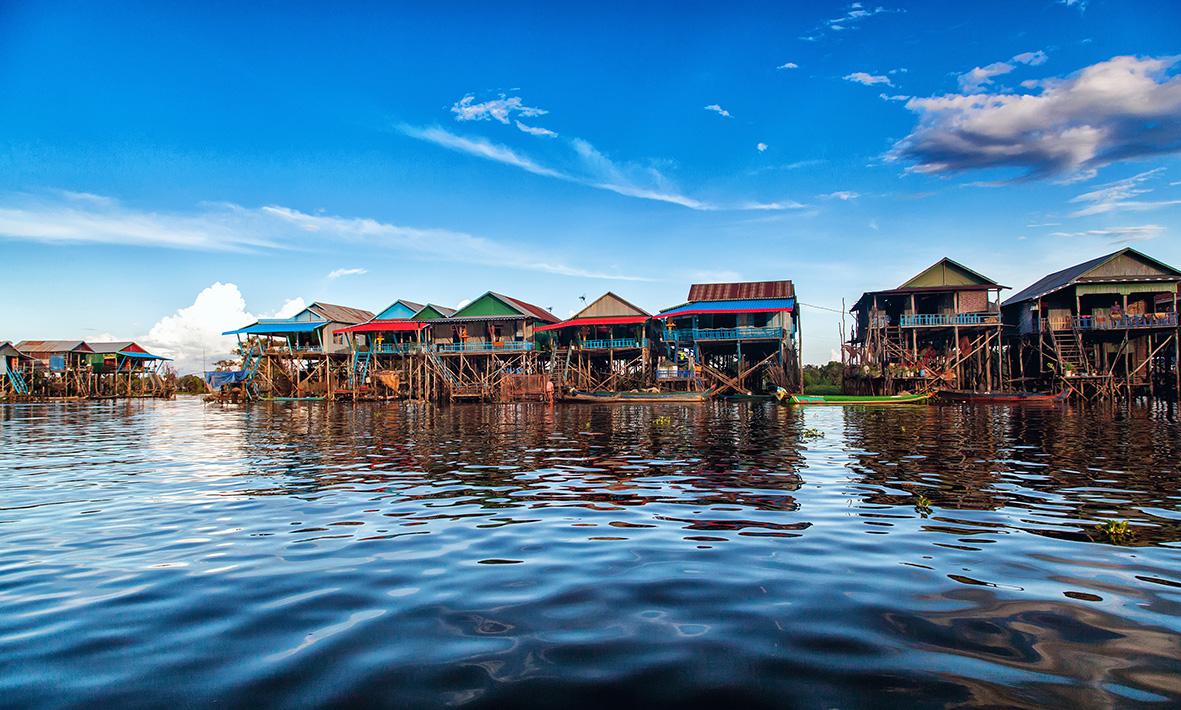 Le lac Tonlé Sap menacé