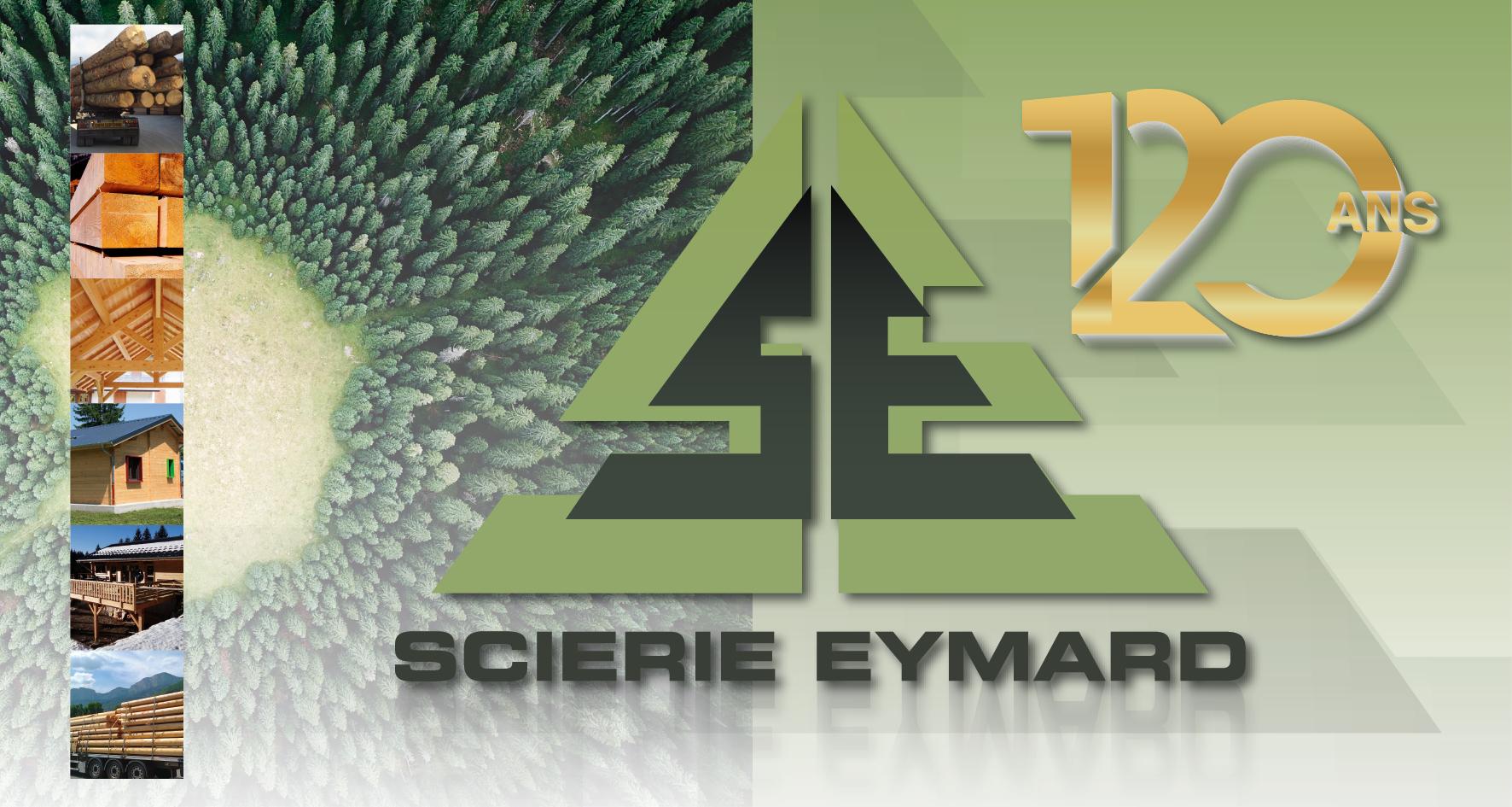 Logo Scierie Eymard 120 ans