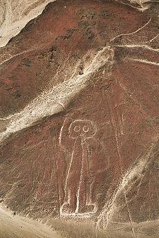 Ligne de Nazca- Singe - Pérou