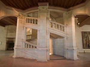 Escalier à double vis