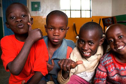 Enfants kenyans
