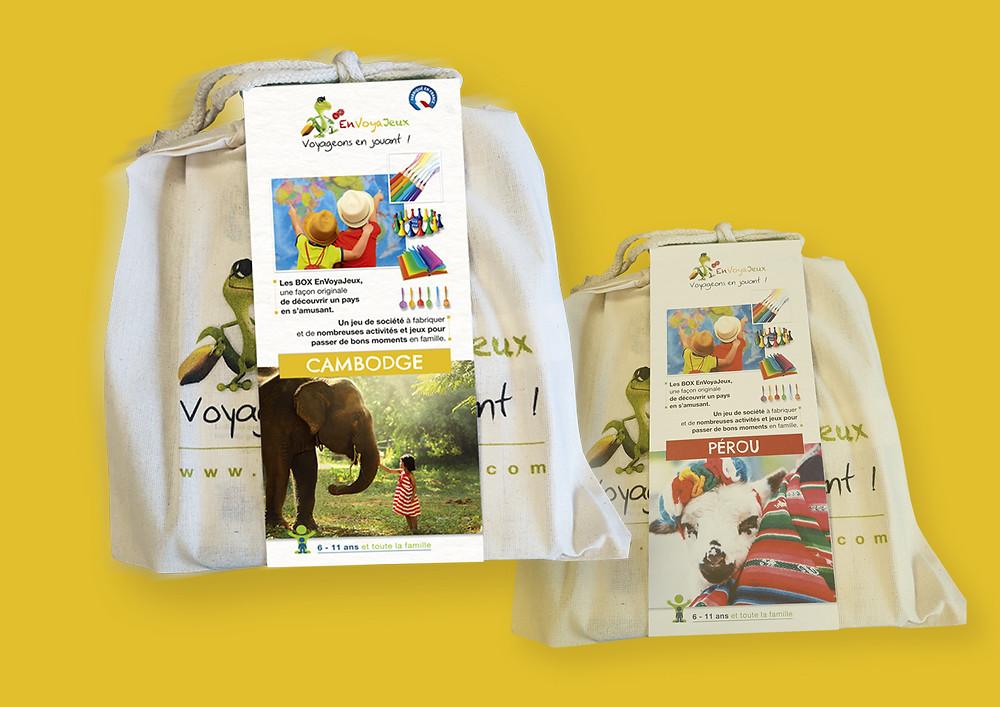 La BOX Cambodge rejoint la BOX Pérou chez EnVoyaJeux