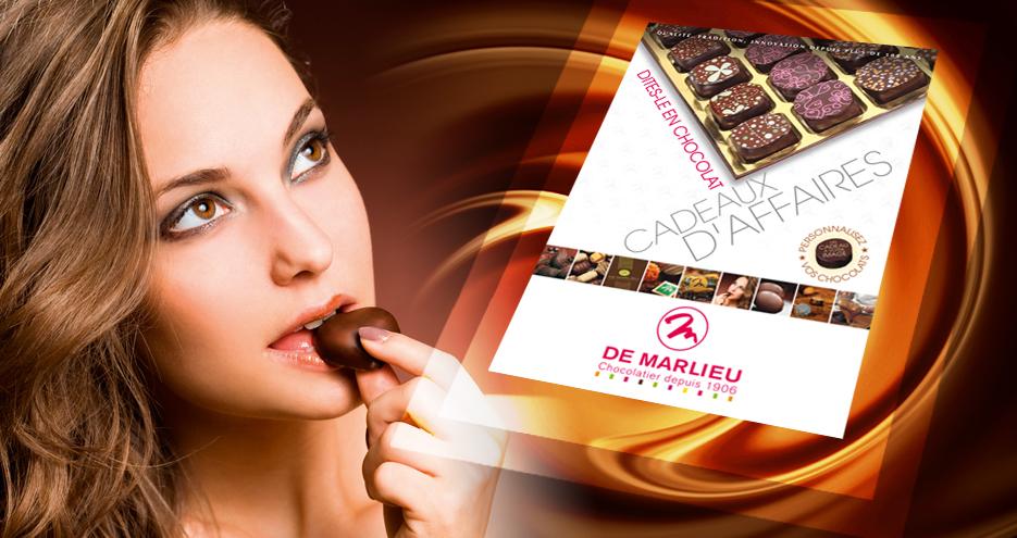 Chocolats De Marlieu - Plaquette