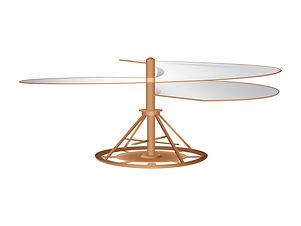 Helicoptère Leonard de Vinci