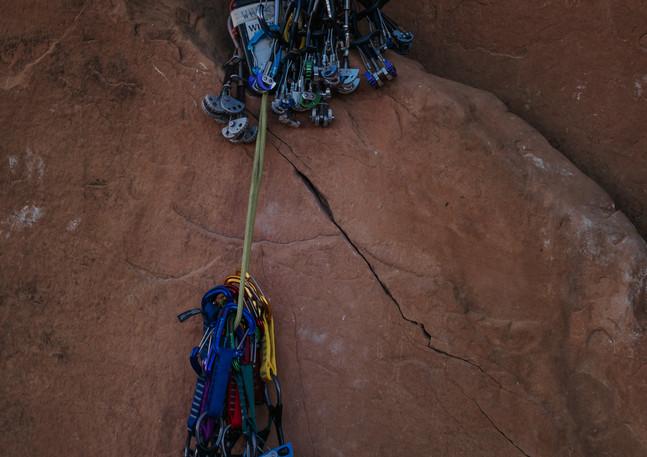 Climbing season.