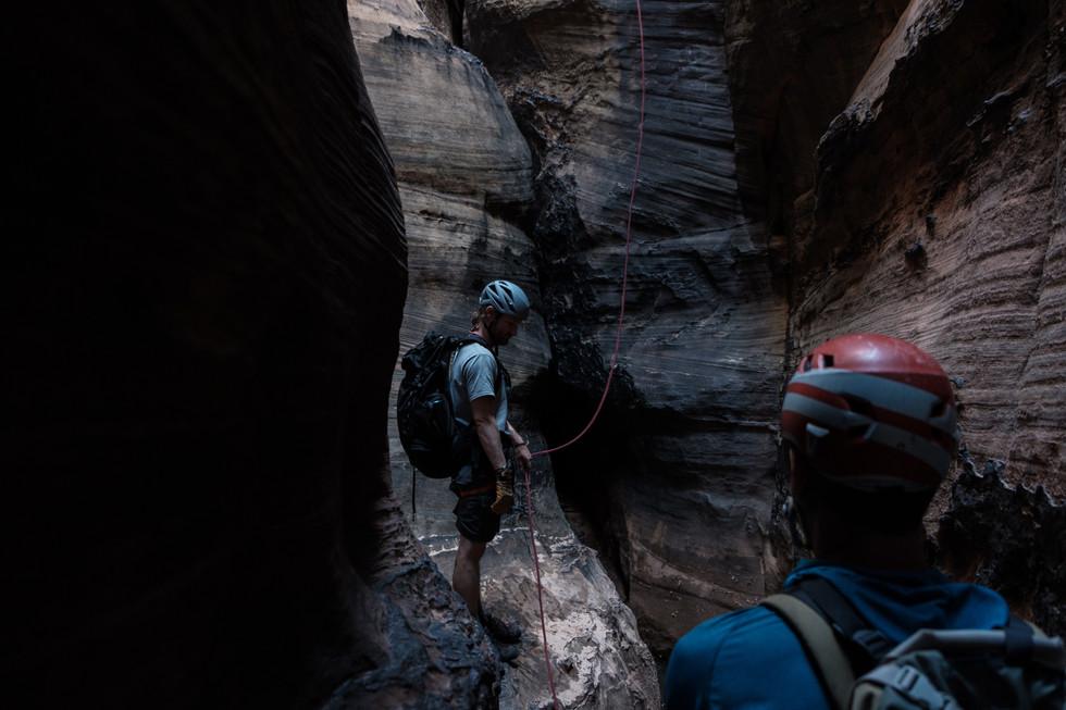 Into the Dark. Boundary Canyon
