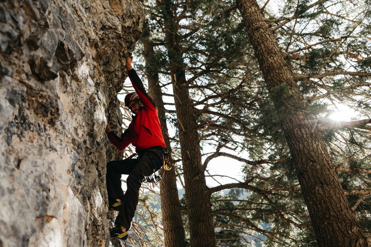 Corey on Limestone