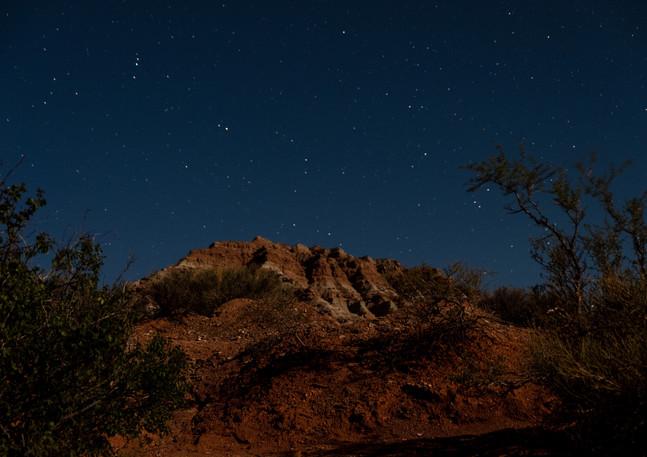 Stars over the desert.