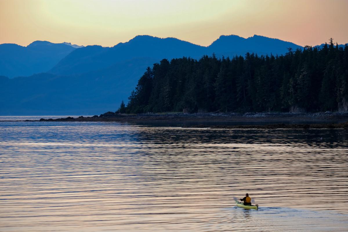 Kayak Alaska.