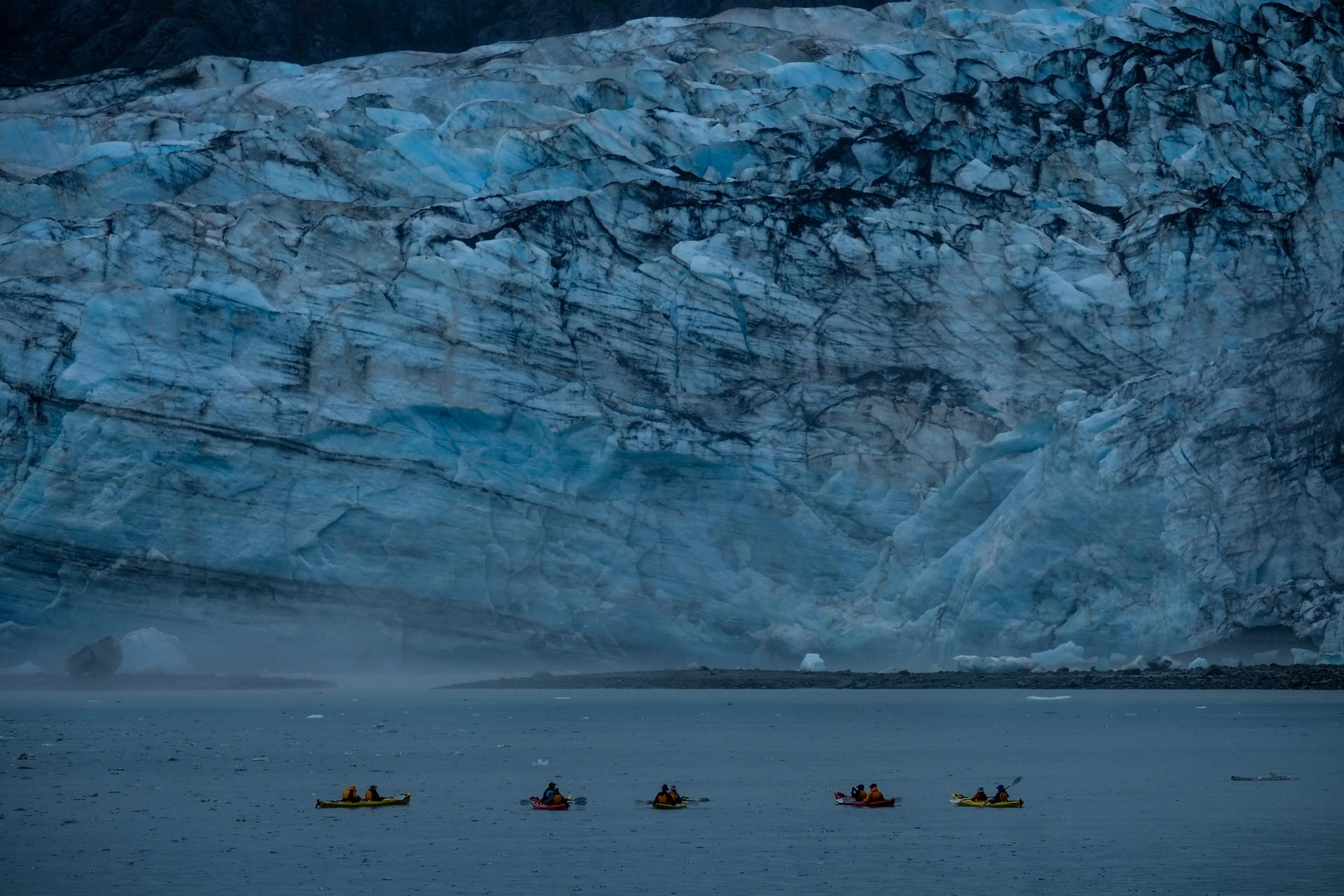 Kayakers near Lamplugh.