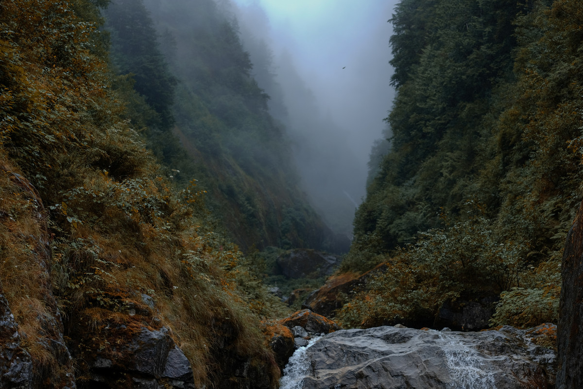 Waterfall // Mist.