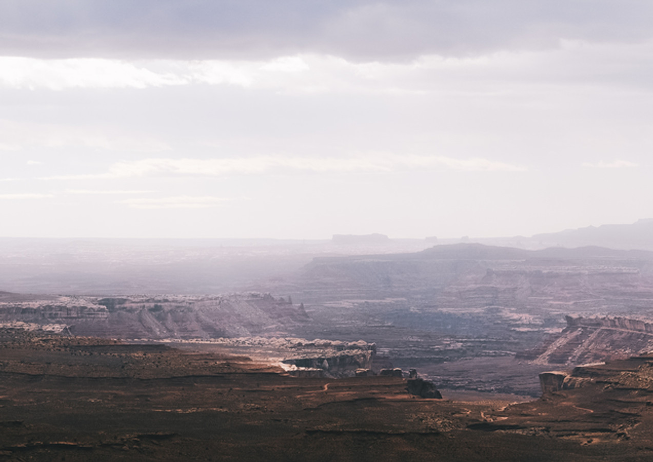 Light over Canyonlands