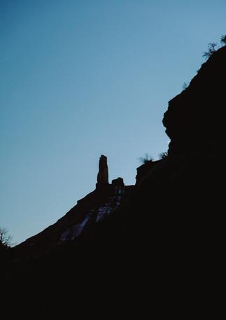 Castleton Tower.