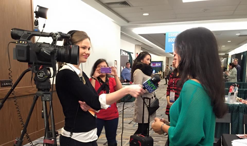 Maddie Orton, NJTV-PBS, at APAP|NYC