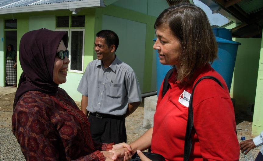 Tsunami recovery in Banda  Aceh