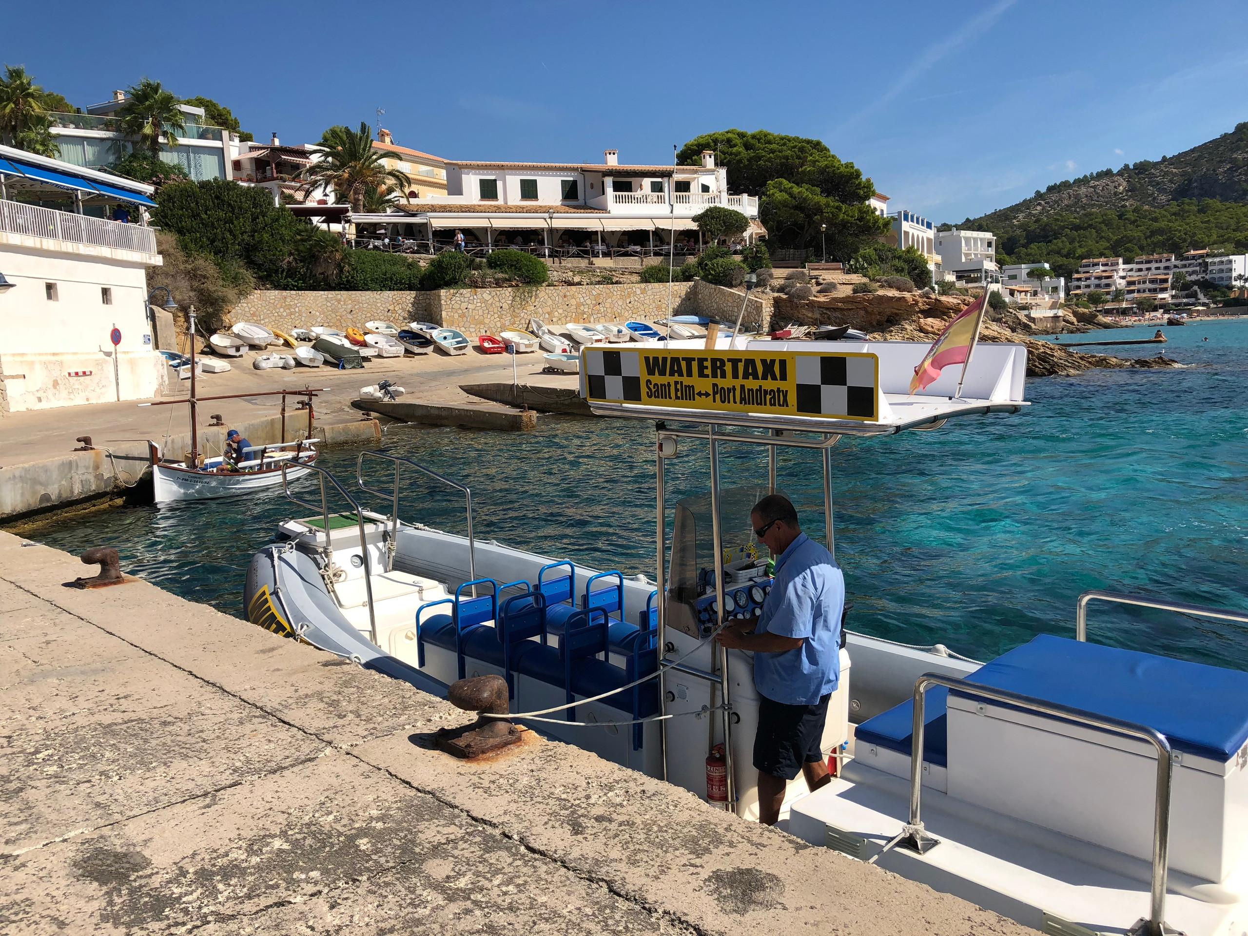 Taxiboot Sant Elm - Puerto de Andratx