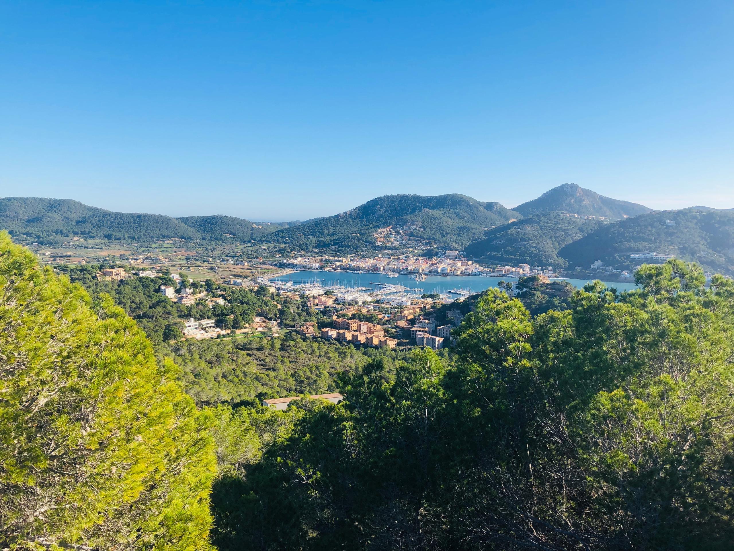Blick auf Puerto de Andratx