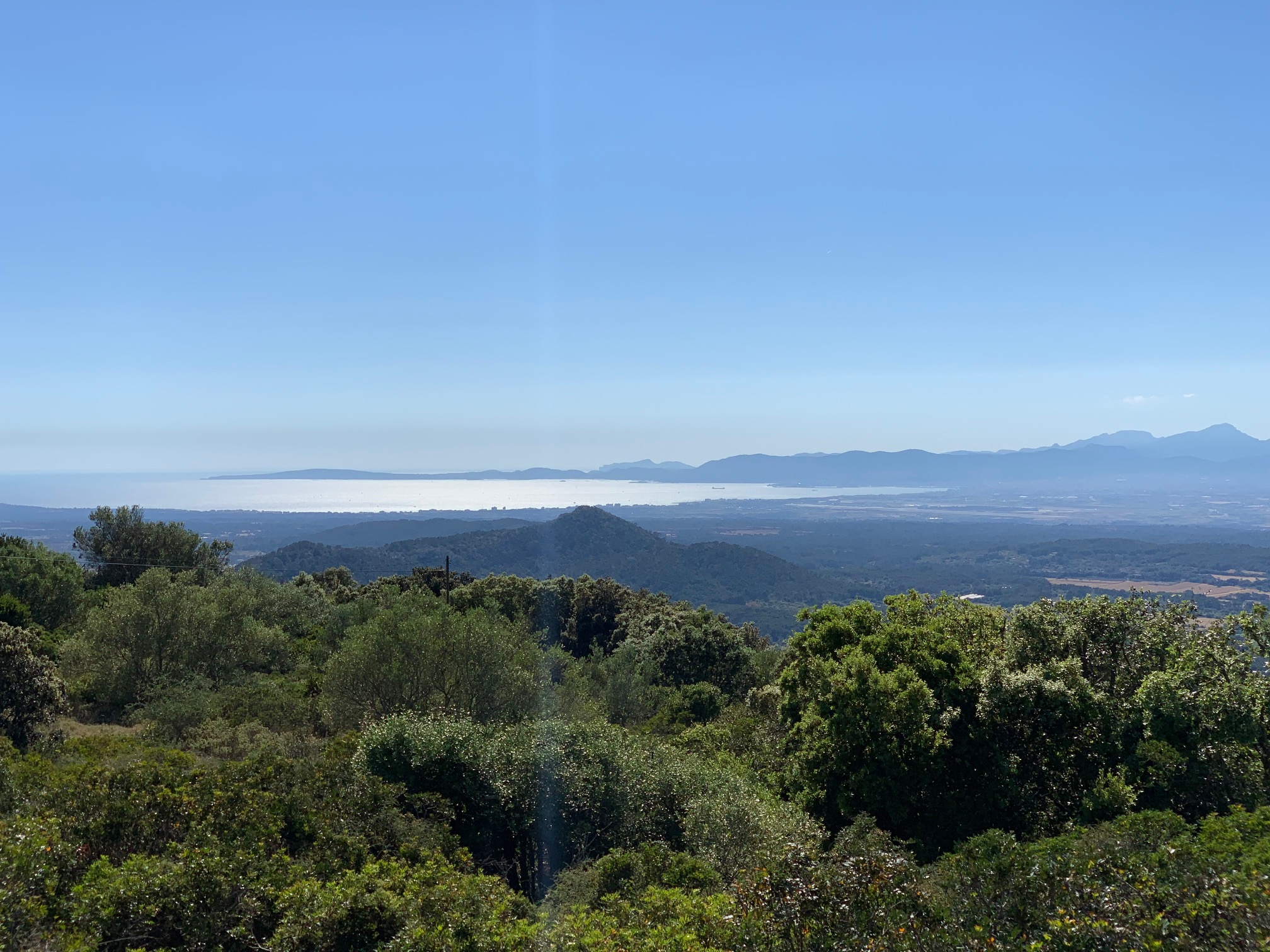 Blick in die Bucht von Palma vom 3. Kloster