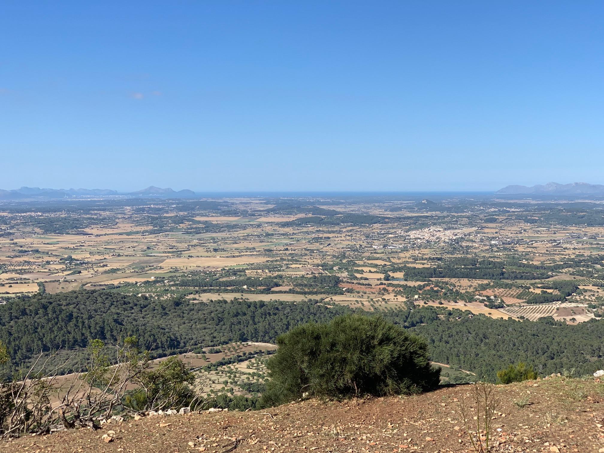 Blick in die Bucht von Alcudia vom 3. Kloster