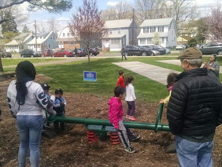 """Meet Greg"" Playdate at DeHart Park Draws Many Young Families"