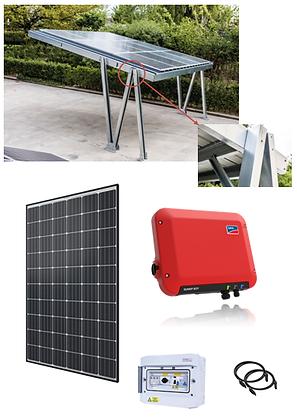 Carport 2 places - 3 kW