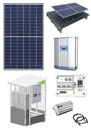 Kits 100 kW avec Shelter