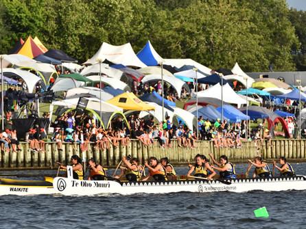 Waka Ama Sprint Nationals involve thousands