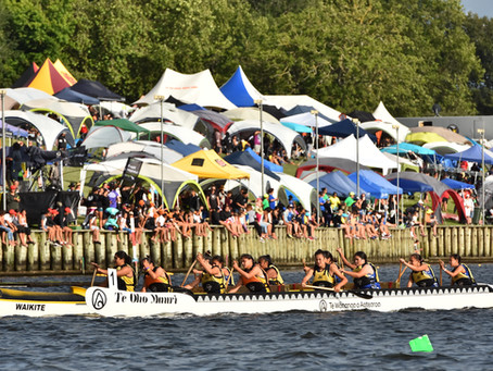 Waka Ama Sprint Nationals involve thousands