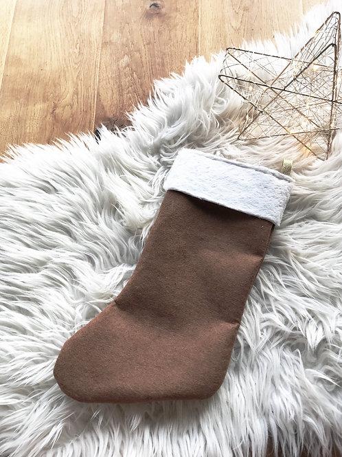 Chaussette de Noël Camel