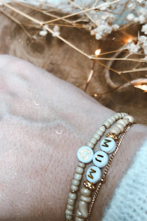 Duo de bracelets personnalisés