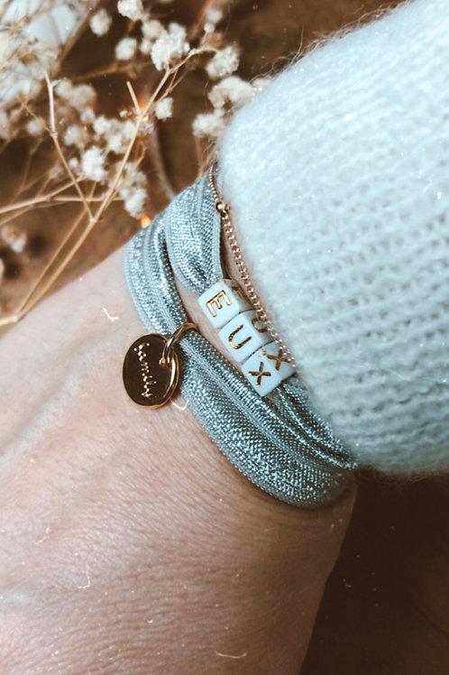DUO bracelet ruban élastique