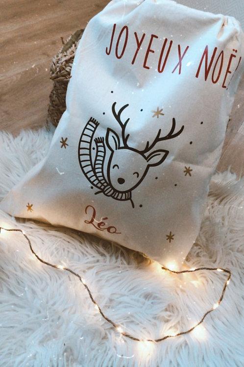 Hotte de Noël -Grand format
