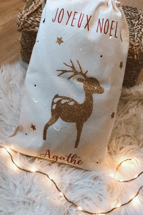 Hotte de Noël - Petit format