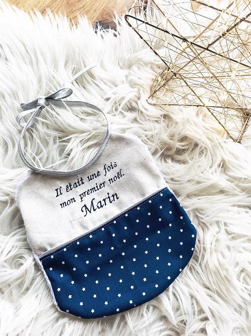 Bavoir Noël «Marin»