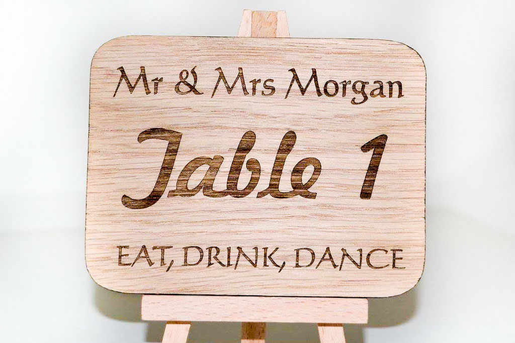 Table Numbers (2 of 10)