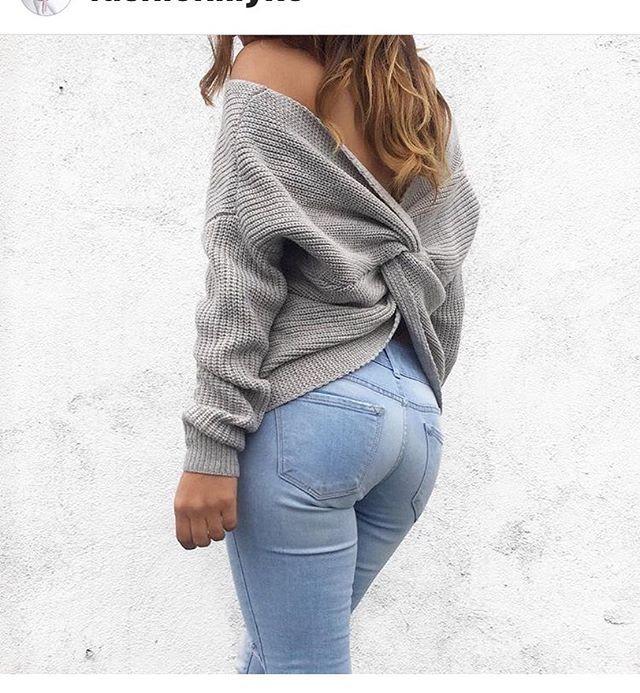 Kimberly Tie Knot Sweatshirt 😍‼ Ladies