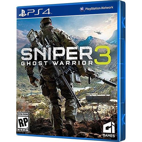 Sniper 3 Ghost Warrior - PS4