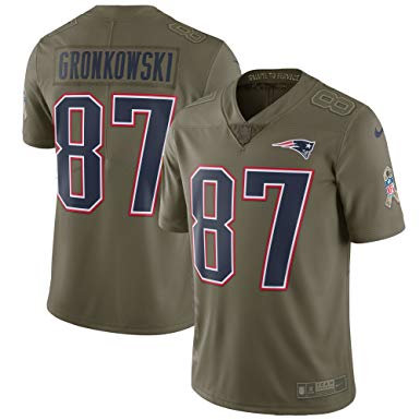 New England Patriots - Jersey Salute to Service 2018