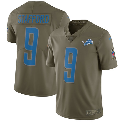 Detroit Lions - Jersey Salute to Service 2018