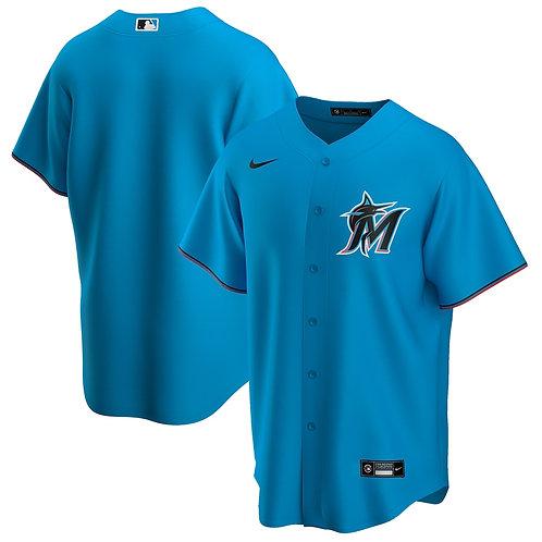 Miami Marlins - Azul claro