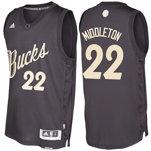 Milwaukee Bucks - Retro Christmas Day Preto