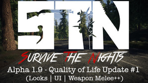 Alpha 1.9 - Quality of Life Update #1 (Locks | UI | Weapon Melee++)