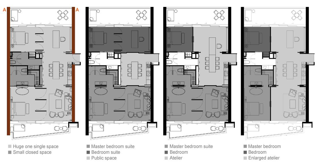 2 Bedroom Unit plan