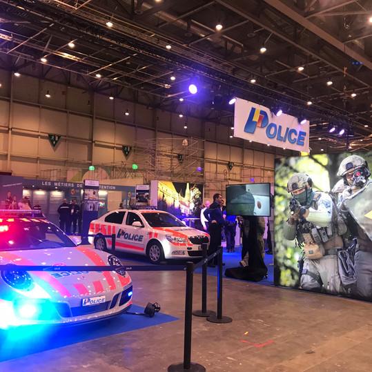 Stand Police, Cité des Métiers 2018