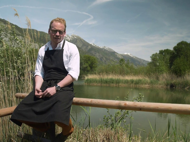 KASPERSKIAN CAVIAR WITH LIFE: COOKING WITH CHEF BENJAMIN LUZUY