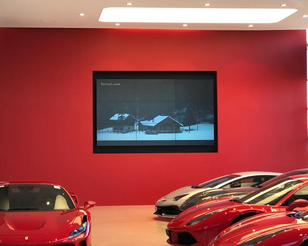 Garage Ferrari Video Wall 5.JPG