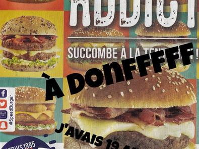 Merry Burger and Merveilleux Noël en/sous speed!